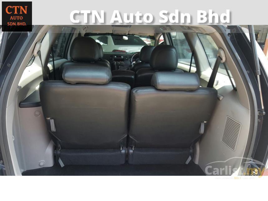 2009 Mitsubishi Grandis MPV