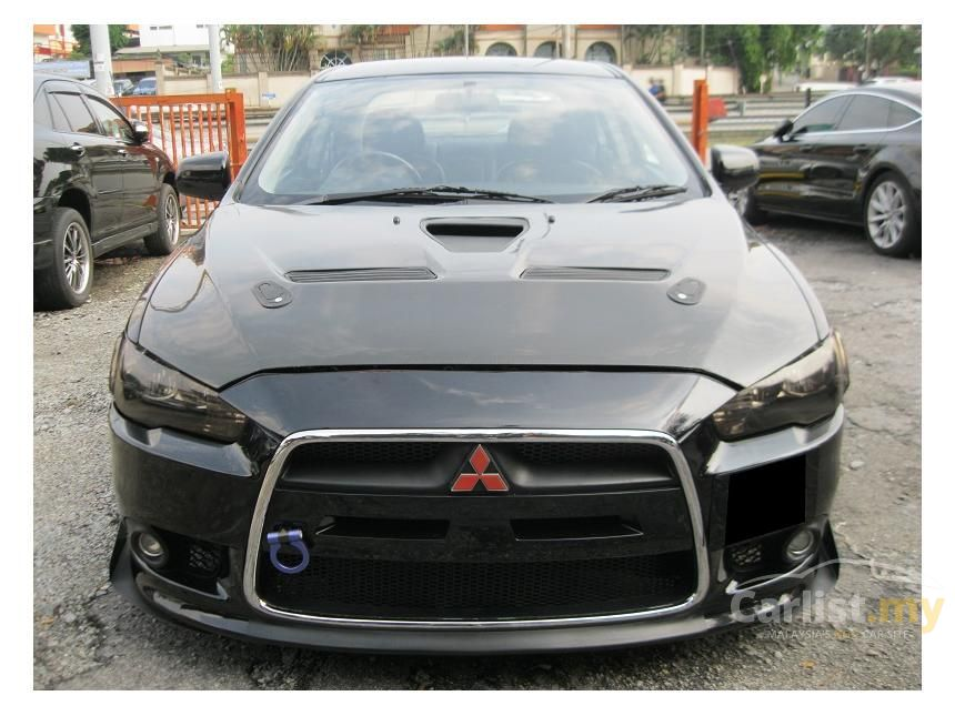 mitsubishi lancer 2010 gt 2 0 in selangor automatic sedan black for rm 59 500 2797971. Black Bedroom Furniture Sets. Home Design Ideas