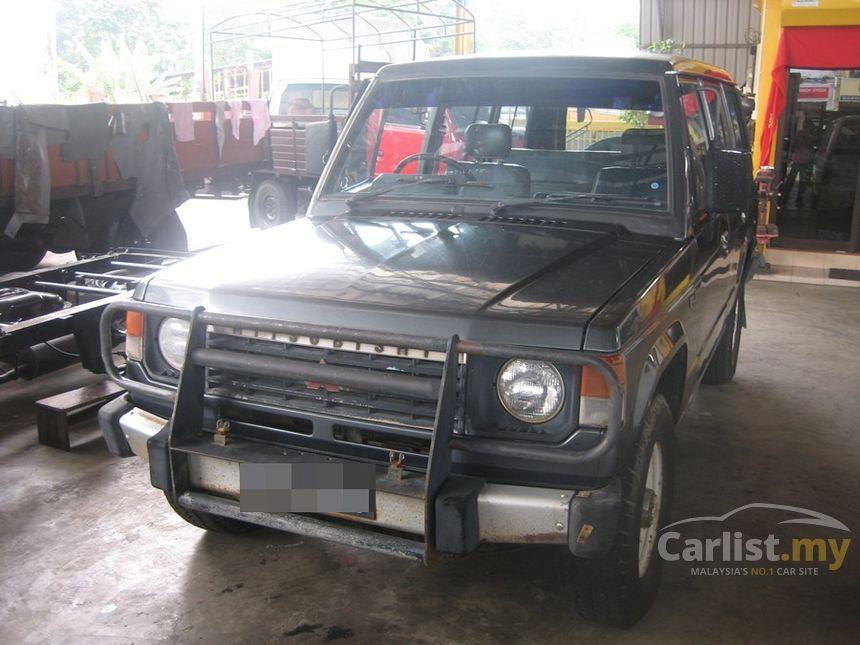 Mitsubishi Pajero In Negeri Sembilan Manual Suv Black For