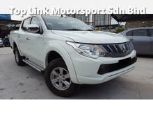 2015 MITSUBISHI TRITON 2.5 4X4 (M) DIESEL YEAR END 2016 CLEARANCE STOCK PROMOTION FREE SMART PHONE