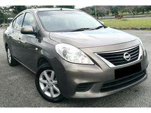 2013 Nissan Almera 1.5 E (A) V SPEC TIP TOP CONDITION LIKE NEW