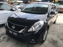Nissan Almera 1.5 V (A) 2014 Full Service Record 1 Lady Owner Only TipTop Condition