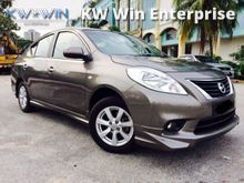 2013 Nissan Almera 1.5 (A) TIPTOP 1 OWNER LIKE NEW