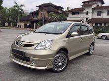 2010 Nissan Grand Livina 1.6 Impul MPV