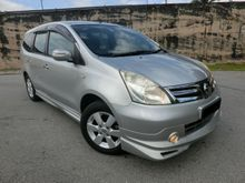 2011 Nissan Grand Livina 1.8 Luxury MPV FULL SPEC IMPUL BODYKIT