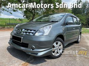 2011 Nissan Grand Livina 1.8 Luxury MPV LEATHER SEAT TIP TOP CONDITION ONE OWNER