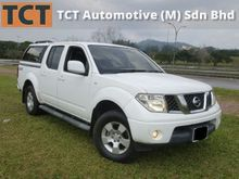 2010 Nissan Navara 2.5 manual ,with canopy