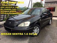 2006 Nissan Sentra 1.6 SG Sedan 1 OWNER YEAR MAKE 2006