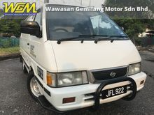1999 Nissan Vanette 1.5 (M) FULL PANEL ONE OWNER TIP TOP CONDITION