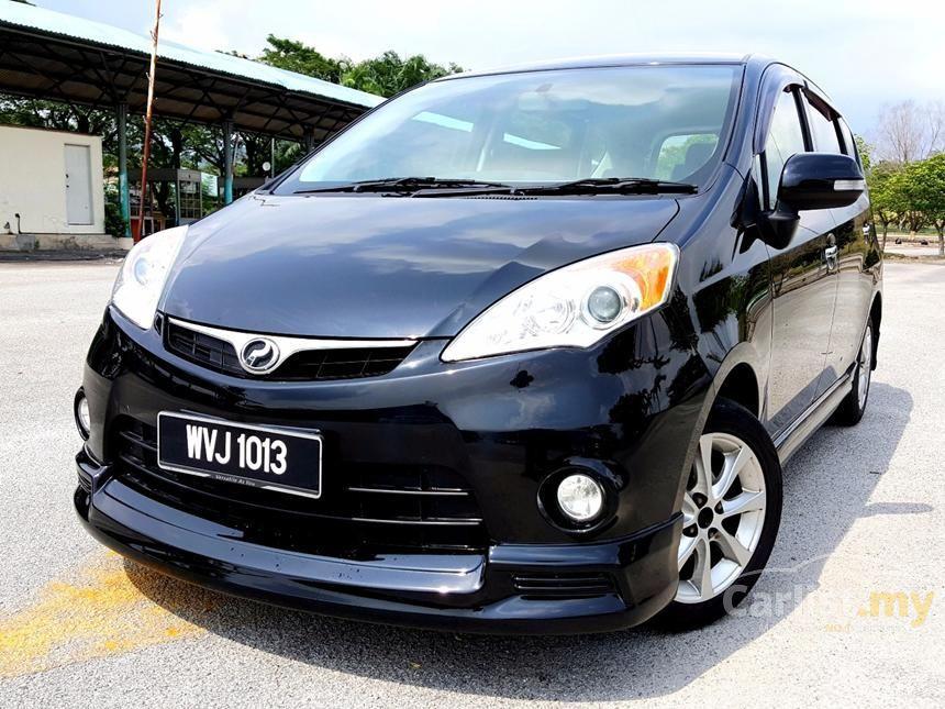 2012 Perodua Alza EZi MPV