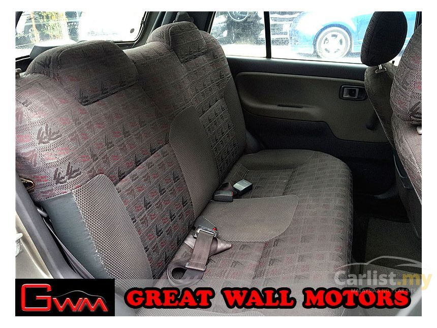 2002 Perodua Kelisa EZ Hatchback