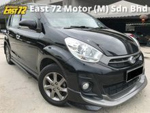 2013 Perodua Myvi 1.5 Extreme full service full loan lady owner