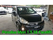 2015 Perodua Myvi 1.5 SE Full Service Record Warranty Until 2020