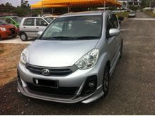 Perodua Myvi 1.5SE Auto Hatchback.One Owner,Leather Seats,GPS,DVD,ABS,2 Air Bag,Sport Rim........