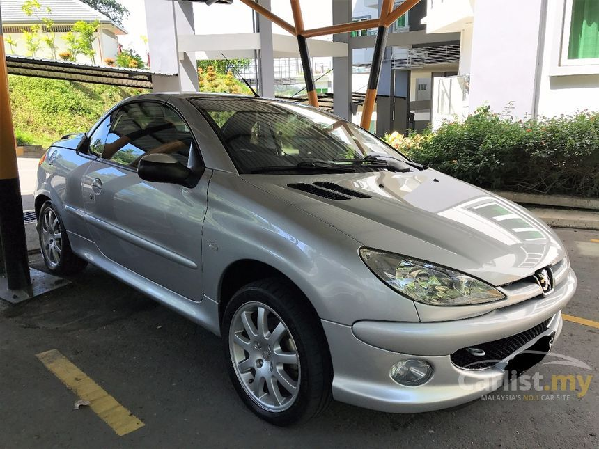 peugeot 206 2004 cc 1 6 in sabah automatic convertible silver for rm 29 880 3329733. Black Bedroom Furniture Sets. Home Design Ideas
