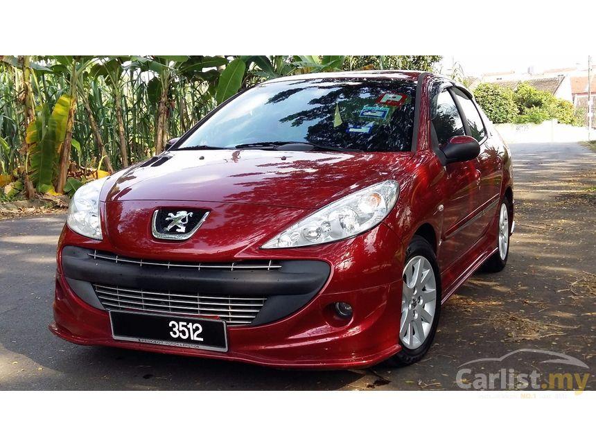 peugeot 207 2014 1.6 in kuala lumpur automatic sedan red for rm
