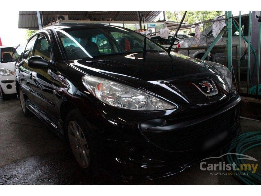 peugeot 207 2012 1.6 in johor automatic sedan black for rm 28,000