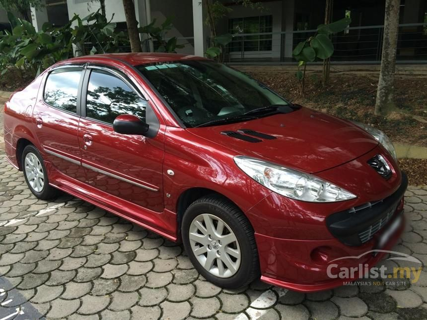peugeot 207 2011 sv 1.6 in kuala lumpur automatic sedan red for rm