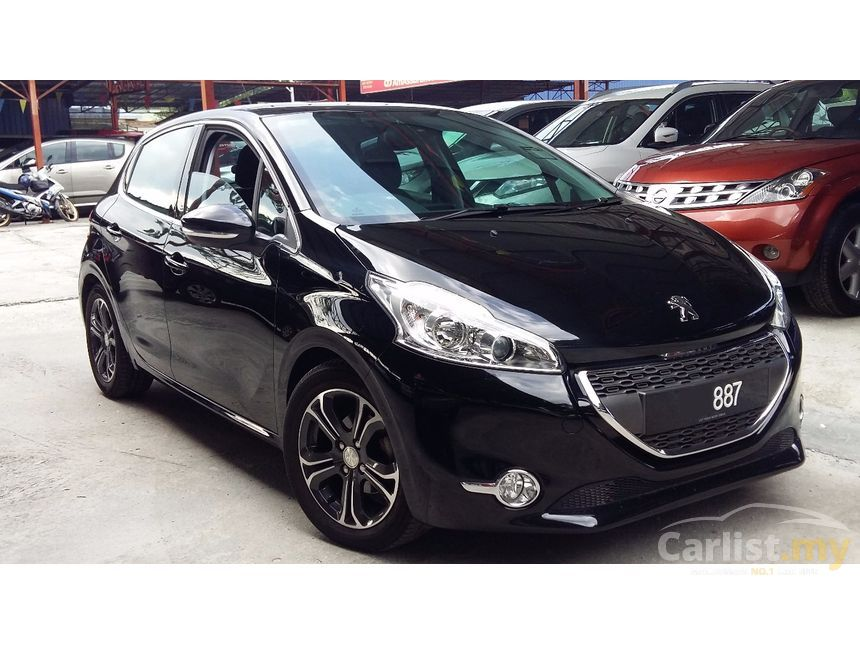 peugeot 208 2014 allure 1 6 in kuala lumpur automatic hatchback black for rm 39 800