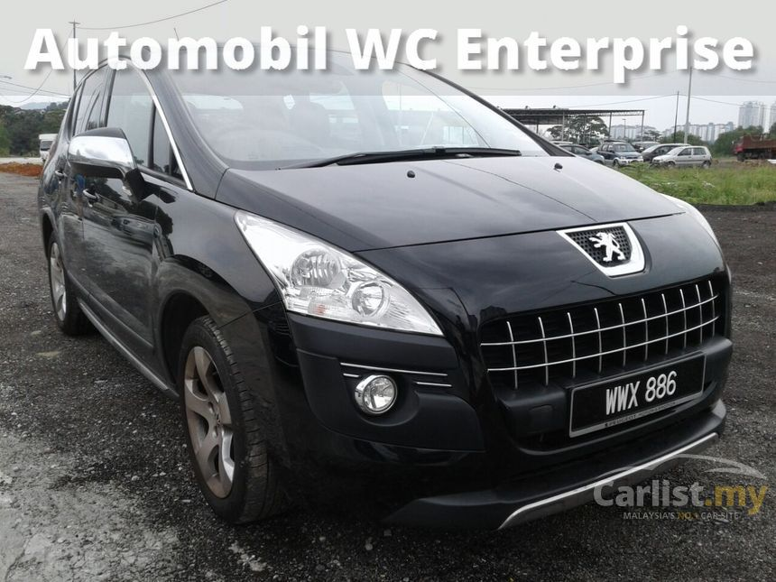 peugeot 3008 2012 1.6 in kuala lumpur automatic suv black for rm