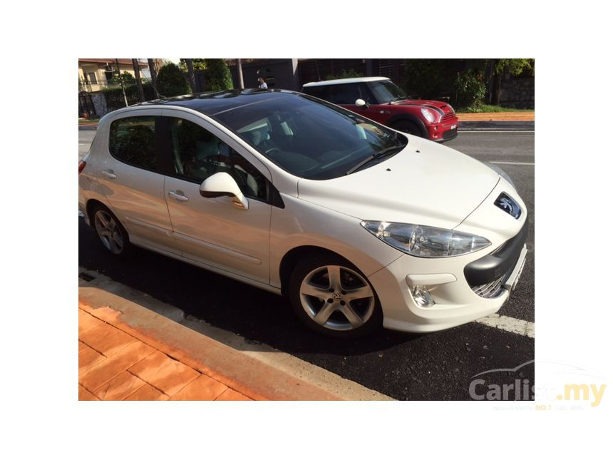 peugeot 308 2011 cc 1.6 in selangor automatic convertible white