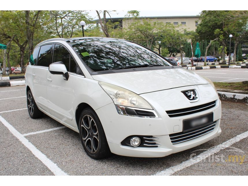 Peugeot 5008 2011 1 6 In Selangor Automatic Mpv White For Rm 47 000 3847890 Carlist My