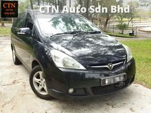 2010 Proton Exora 1.6 HI LINE MPV  TOUCH SCREEN PLAYER REVERSE CAMERA LEATHER SEAT TIP TOP CONDITIONS