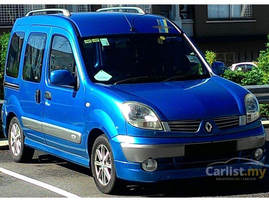 Renault Kangoo 2006 Sportif Sl 14 In Johor Automatic Wagon Blue For