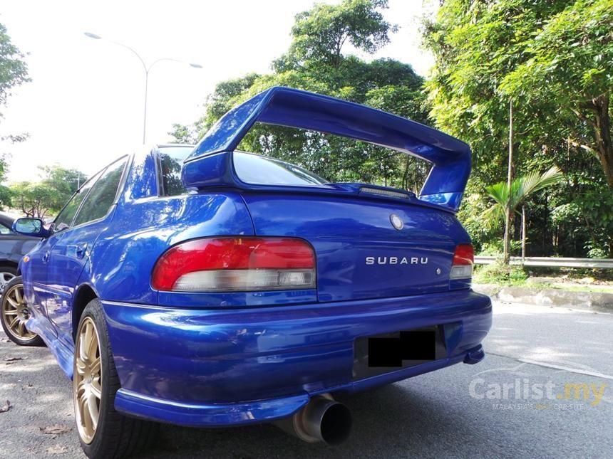 Subaru Impreza 1998 Wrx 2 0 In Kuala Lumpur Manual Sedan