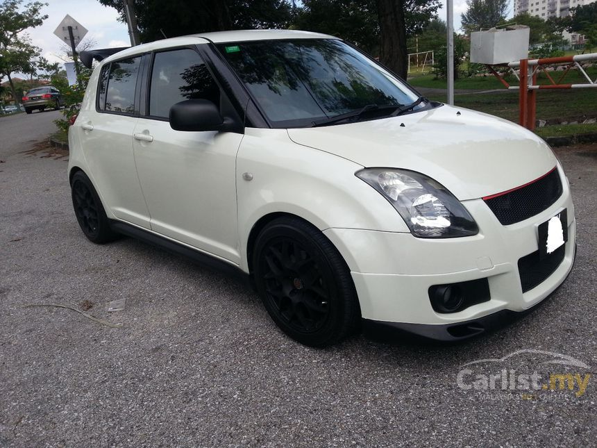 suzuki swift 2007 sport 1 6 in selangor automatic hatchback white for rm 27 900 3836884. Black Bedroom Furniture Sets. Home Design Ideas