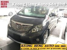 (ACTUAL YR MADE 2O1O)(GST INCLU)(LOW MILE)(GST INCLU)(1 OWNER)(REG 2O13)(LIKE NEW)(KL CHERAS AREA) TOYOTA ALPHARD 2.4 S-EDITION MPV
