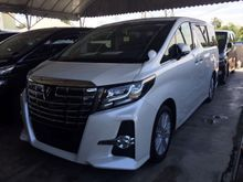 2015 Toyota Alphard 2.5 SA PACKAGE