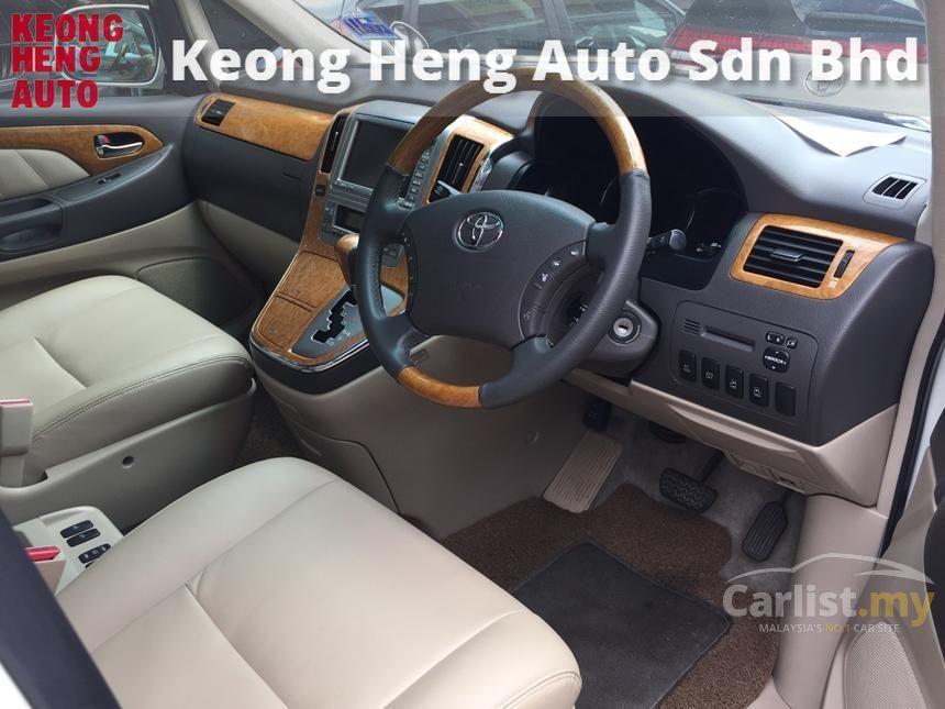 2005 Toyota Alphard G MPV