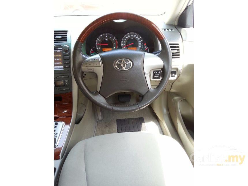 2010 Toyota Altis Sedan