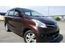 2014 Toyota Avanza 1.5 G (A) NO PROCESSING FEE - FULL SPEC - BODYKIT - FULL LOAN - 0 DOWN PAYMENT - JUST DRIVE AND NO REPAIR