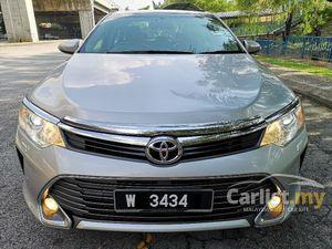 2015 Toyota Camry 2.0 G Sedan New Facelift