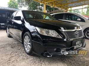 2012 Toyota Camry 2.0 G (A) VVT-i FACELIFT FREE 2 YEARS WARRANTY 1 OWNER FULL SERVICE CAR KING. MEGA CLEARANCE