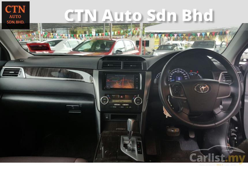 2014 Toyota Camry G Sedan