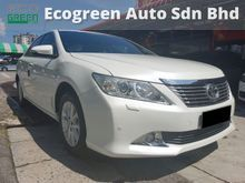 2012 Toyota Camry 2.0 G Sedan-Perfect Condition