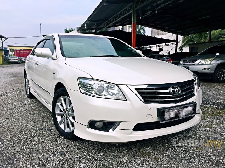 Toyota Camry 2010 G 20 in Selangor Automatic Sedan White for RM