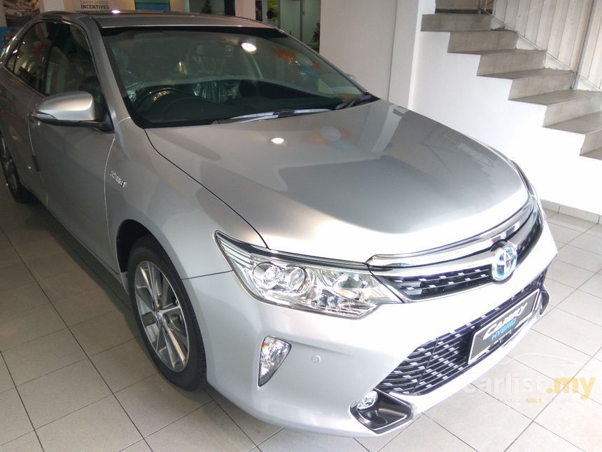 toyota camry 2017 hybrid luxury 2 5 in kuala lumpur automatic sedan silver for rm 162 000. Black Bedroom Furniture Sets. Home Design Ideas