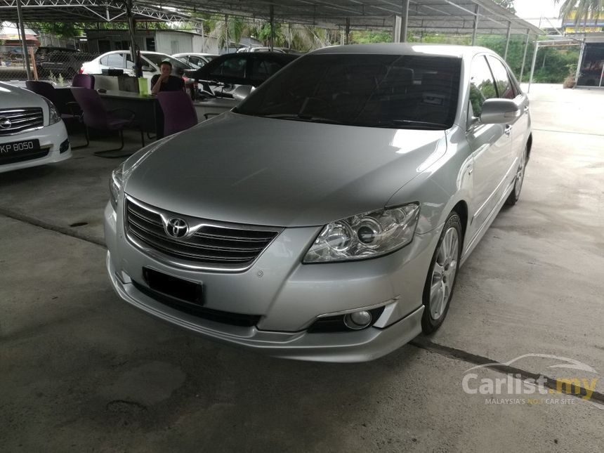 toyota camry 2008 v 2 4 in kedah automatic sedan silver. Black Bedroom Furniture Sets. Home Design Ideas