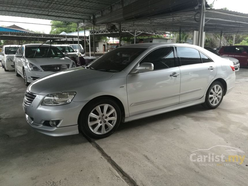 toyota camry 2008 v 2 4 in kedah automatic sedan silver for rm 65 000 3637503. Black Bedroom Furniture Sets. Home Design Ideas