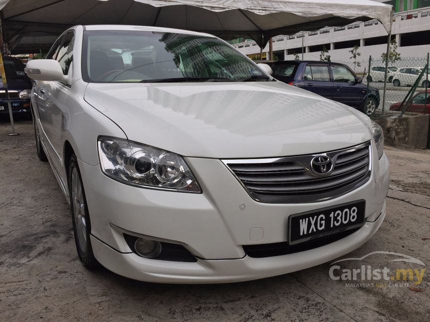 toyota camry 2008 v 2 4 in kuala lumpur automatic sedan white for rm 60 800 3666733. Black Bedroom Furniture Sets. Home Design Ideas