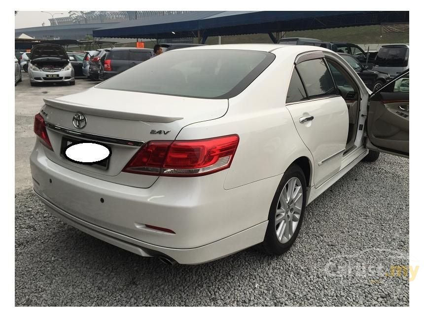 toyota camry 2010 v 2 4 in kuala lumpur automatic sedan white for rm 94 800 2448535. Black Bedroom Furniture Sets. Home Design Ideas