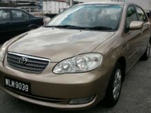 2004 TOYOTA COROLLA ALTIS 1.6(A) E-SPEC ** GENUINE YEAR MAKE ** EXCELLENT N GOOD CONDITION ** POPULAR MODEL ** WELL MAINTAINED BY LAST OWNER **