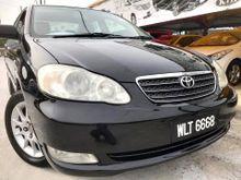 2005 Toyota Corolla Altis 1.8 G Sedan AUTO ELECTRIC LEATHER SEATS FULLOAN