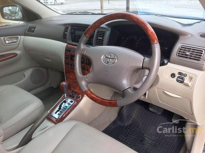 Toyota Corolla Altis 2005 G 1 8 In Kuala Lumpur Automatic Sedan Black For Rm 24 980 3521682