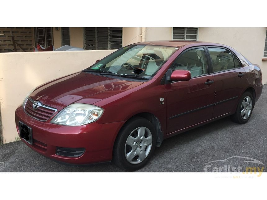 toyota corolla altis 2005 g 1 8 in selangor automatic sedan red for rm 24 900 3821143. Black Bedroom Furniture Sets. Home Design Ideas