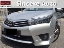 (SAVE RM6000)(FULL SERVICE REC) 2015 Toyota Corolla Altis 1.8 G Push Start Leather Seat 15
